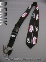 NECK STRAP-BK BLACK